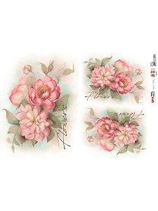 OPL - 30X45 FLOWERS REF 2400 - OPAPEL