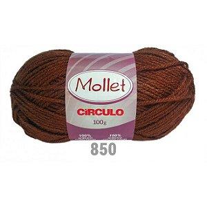 LÃ MOLLET CIRCULO 100G - COR 850