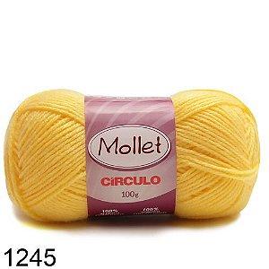 LÃ MOLLET CIRCULO 100G - COR 1245