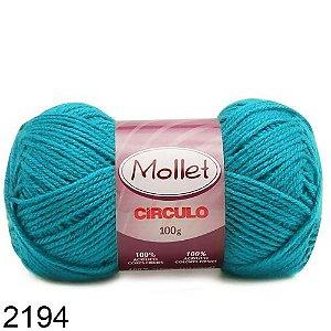 LÃ MOLLET CIRCULO 100G - COR 2194