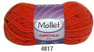 LÃ MOLLET CIRCULO 100G - COR 4817