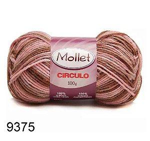 FIO MOLLET CIRCULO COR 9375 100 G