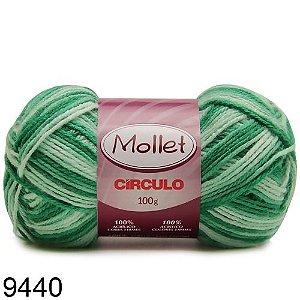 LÃ MOLLET CIRCULO 100G - COR 9440