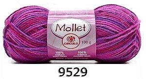 LÃ MOLLET CIRCULO 100G - COR 9529