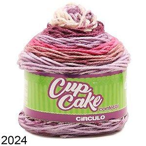 Fio CupCake Confetti Circulo 200g COR 2024