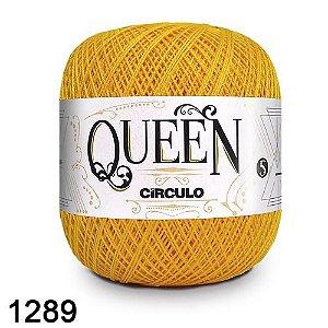 Fio Queen 5/2 Circulo 100g Tex 236 COR 1289 CANÁRIO