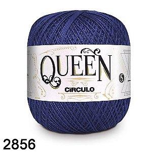 Fio Queen 5/2 Circulo 100g Tex 236 COR 2856 ANIL PROFUNDO