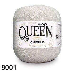 Fio Queen 5/2 Circulo 100g Tex 236 COR 8001 BRANCO