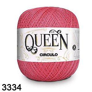 Fio Queen 8/2 Circulo 100g Tex 147,5 COR 3334 TULIPA
