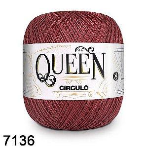 Fio Queen 8/2 Circulo 100g Tex 147,5 COR 7136 MARSALA