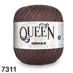 Fio Queen 8/2 Circulo 100g Tex 147,5 COR 7311 TABACO