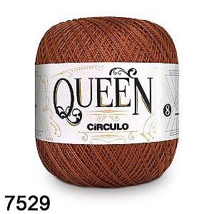 Fio Queen 8/2 Circulo 100g Tex 147,5 COR 7529 TERRACOTA
