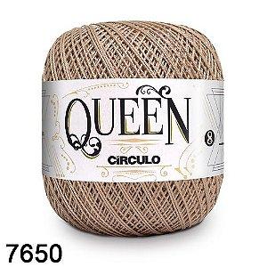 Fio Queen 8/2 Circulo 100g Tex 147,5 COR 7650 AMÊNDOAS