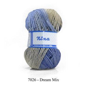 LÃ NINA MESCLADA PINGOUIN 40G COR 7026 - DREAM MIX