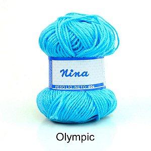 LÃ NINA PINGOUIN 40G COR 8587 - OLYMPIC