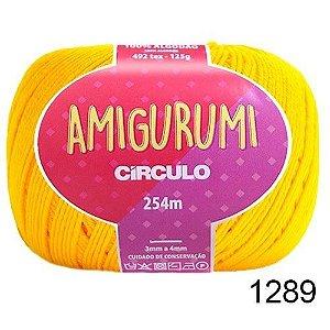 LINHA AMIGURUMI 125 G COR 1289 CANÁRIO