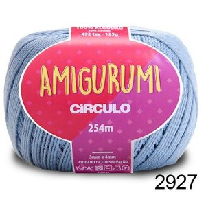 LINHA AMIGURUMI 125 G COR 2927