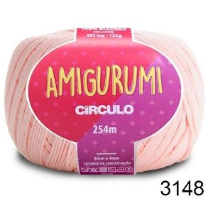 LINHA AMIGURUMI 125 G COR 3148