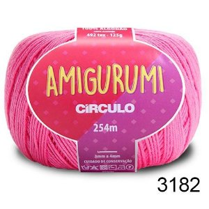 LINHA AMIGURUMI 125 G COR 3182