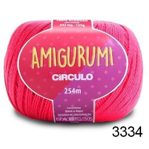 LINHA AMIGURUMI 125 G COR - 3334