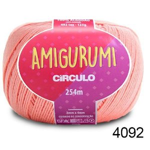 LINHA AMIGURUMI 125 G COR 4092