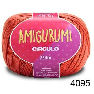 LINHA AMIGURUMI 125 G COR 4095