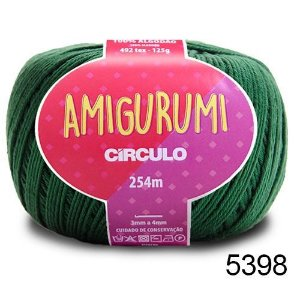 LINHA AMIGURUMI 125 G COR 5398