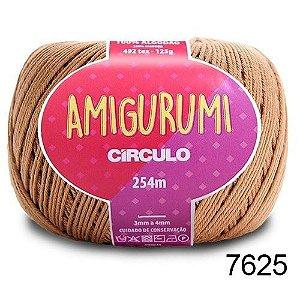 LINHA AMIGURUMI 125 G COR 7625 CASTANHA