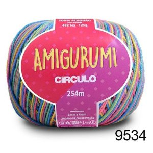 LINHA AMIGURUMI 125 G COR 9534 UNICÓRNIO
