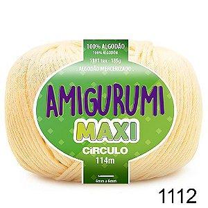 FIO AMIGURUMI MAXI 135 GR 114 MTS COR 1112