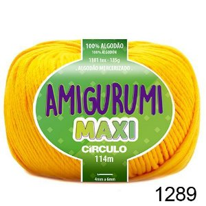 FIO AMIGURUMI MAXI 135 GR 114 MTS COR 1289