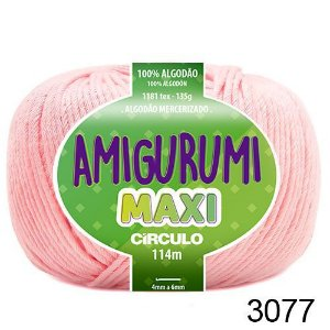 FIO AMIGURUMI MAXI 135 GR 114 MTS COR 3077