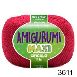 FIO AMIGURUMI MAXI 135 GR 114 MTS COR 3611