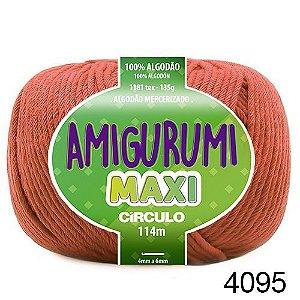 FIO AMIGURUMI MAXI 135 GR 114 MTS COR 4095 RUM VINHO