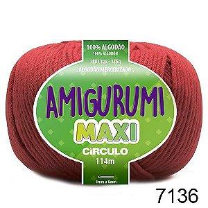 FIO AMIGURUMI MAXI 135 GR 114 MTS COR 7136