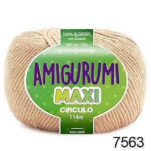 FIO AMIGURUMI MAXI 135 GR 114 MTS COR 7563 CHANTILY BEGE