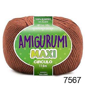 FIO AMIGURUMI MAXI 135 GR 114 MTS COR 7567 CACAU