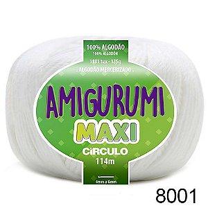 FIO AMIGURUMI MAXI 135 GR 114 MTS COR 8001