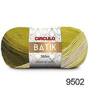 FIO BATIK CIRCULO 100G COR 9502