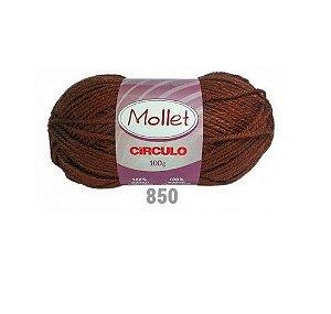 FIO MOLLET CIRCULO COR 0850 100 G