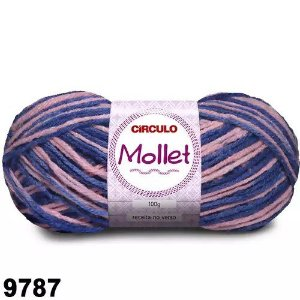 FIO MOLLET CIRCULO COR 9787 100 G