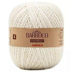 BARBANTE BARROCO N4 NATURAL COR 0020 COM 1186 MTS