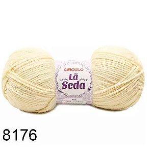 LÃ SEDA CIRCULO COR 8176 OFF WHITE 100 G
