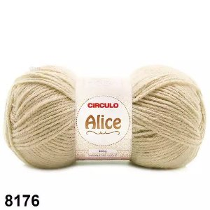 LA ALICE CIRCULO COR 8176 OFF WHITTE 100G