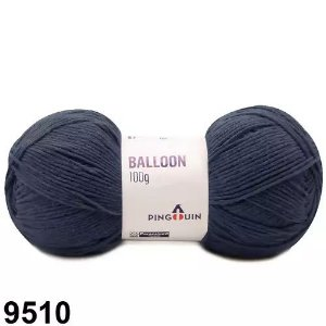 FIO BALLOON 100 GR PINGOIN COR - 9510