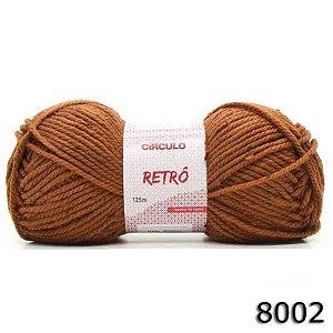 FIO RETRO 125 M CIRCULO COR 8002