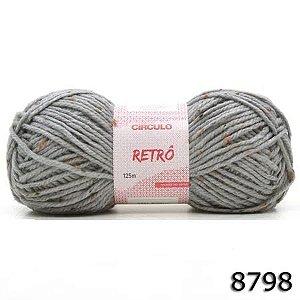FIO RETRO 125 M CIRCULO COR 8798