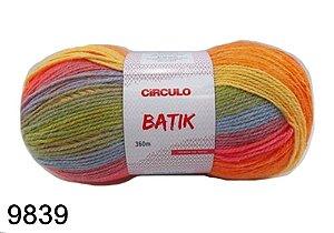 FIO BATIK CIRCULO 100G COR 9839