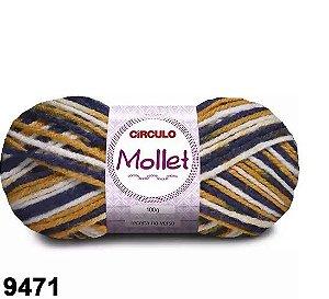 FIO MOLLET CIRCULO COR 9471 100 G