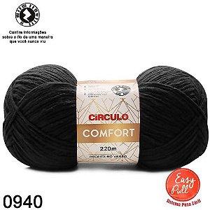 FIO COMFORT COR 940 PRETO